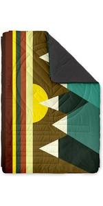2021 Voited Recycled Fleece Outdoor Camping Pillow Blanket V18UN04BLPBC - Monadnock