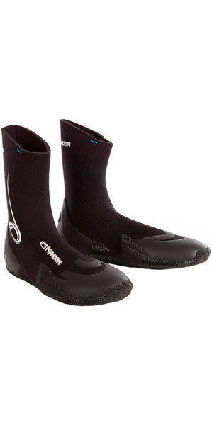 2018 Typhoon Vortex 5mm GBS Round Toe wetsuit Boot Black 300320