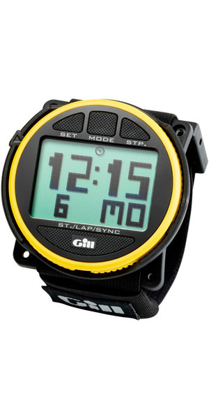2019 Gill Regatta Race Timer Watch Yellow / Black buttons W014
