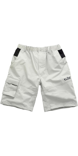 2018 Gill Waterproof Sailing Shorts in Silver 4361