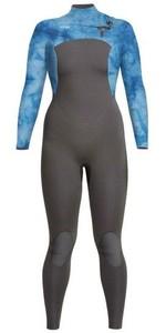 2021 Xcel Womens Comp 3/2mm Wetsuit WN32ZX - Graphite / Tye Dye