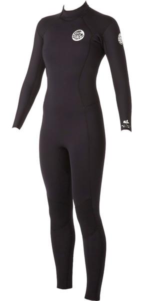 Rip Curl Ladies Dawn Patrol 5/3mm GBS Back Zip Wetsuit Black WSM4EW