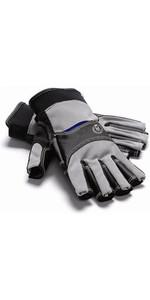 Henri Lloyd Cobra Grip Short Finger Glove CARBON Y80051