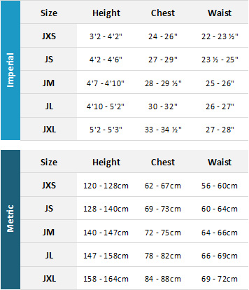 Animal Junior Wetsuits 19 Womens Size Chart