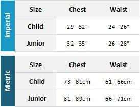 2019 Crewsaver Junior Spray Tops Mens Size Chart