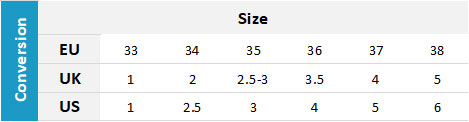 Gill Junior Footwear 19 0 Size Chart