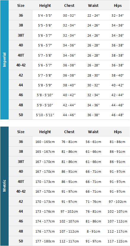 Gul Womens Wetsuits 19 Womens Size Chart
