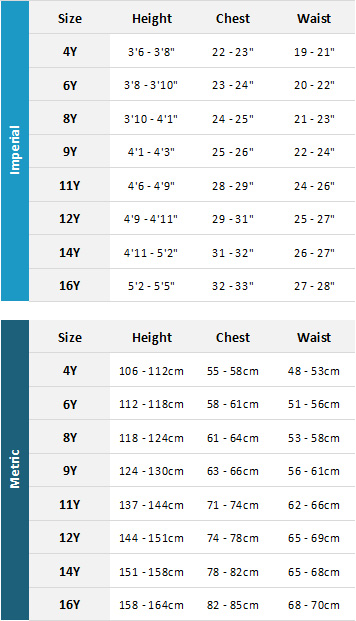 Magic Marine Junior Waterwear 2019 Mens Size Chart