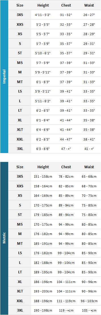 Magic Marine Mens Waterwear 2019 Mens Size Chart