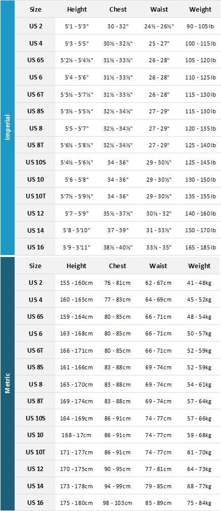 Oneill Womens Wetsuits 19 Womens Size Chart